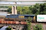 CSX 782 leads Q409